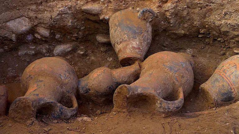 Fouilles archéologiques du site de Lamajone à Aléria (Haute-Corse)
