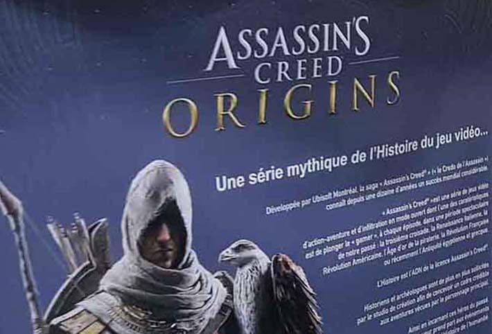 Assassin's Creed Origins – l'Egypte Antique illustrée par Jean-Claude Golvin
