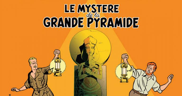 Blake et Mortimer et le Mystère de la Grande Pyramide
