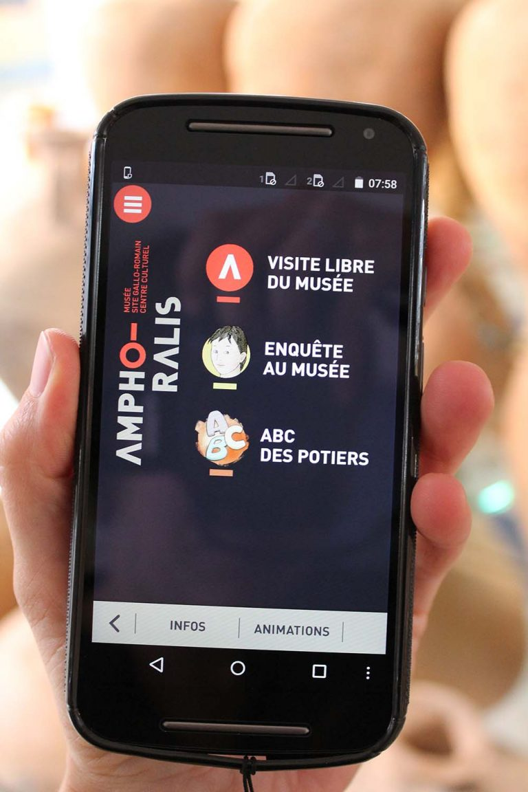 Amphoralis – guides multimédia