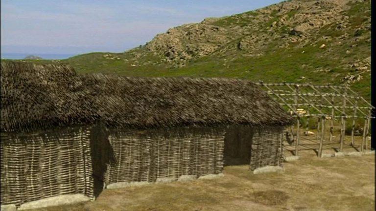Village de la Cima di Suarella (France, Corse, Monte Revincu)