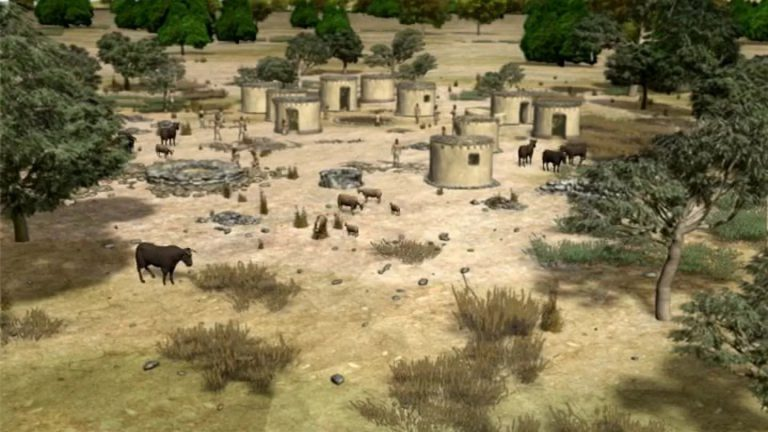 Village de Shillourokambos (Chypre)