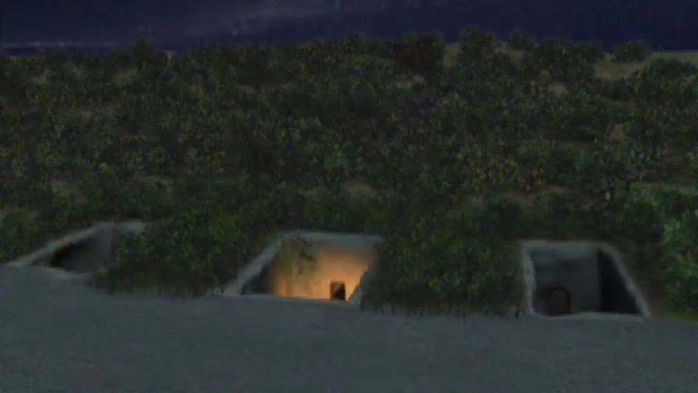 Tombe étrusque de Casabianda (France, Corse, Casabianda)