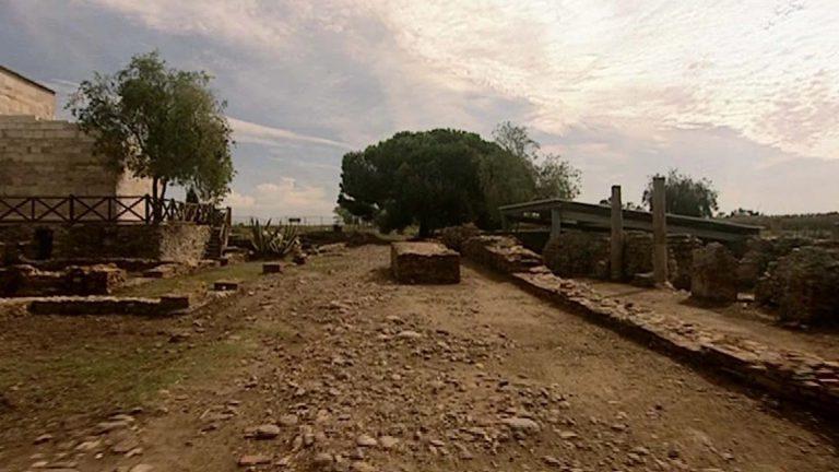 Quartier de la cité antique de Mariana (France, Corse, Lucciana)