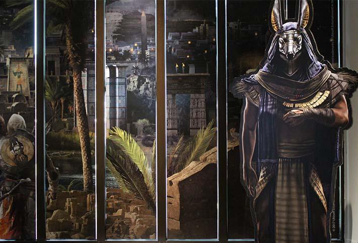 Restituer l'Egypte antique – Voyage architectural, de Jean-Claude Golvin à Assassin's Creed®