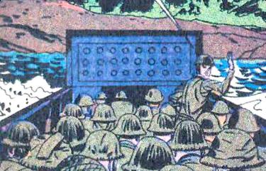 Jack Kirby, le super-héros du D-Day
